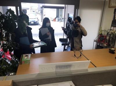 2021.01.27  『会食用パーティシールド』1/27FBC福井放送のTV報道番組にて紹介